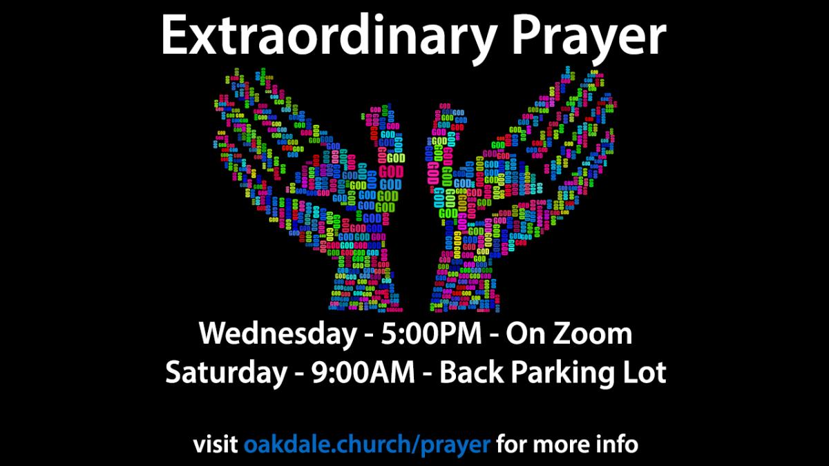 Extraordinary Prayer