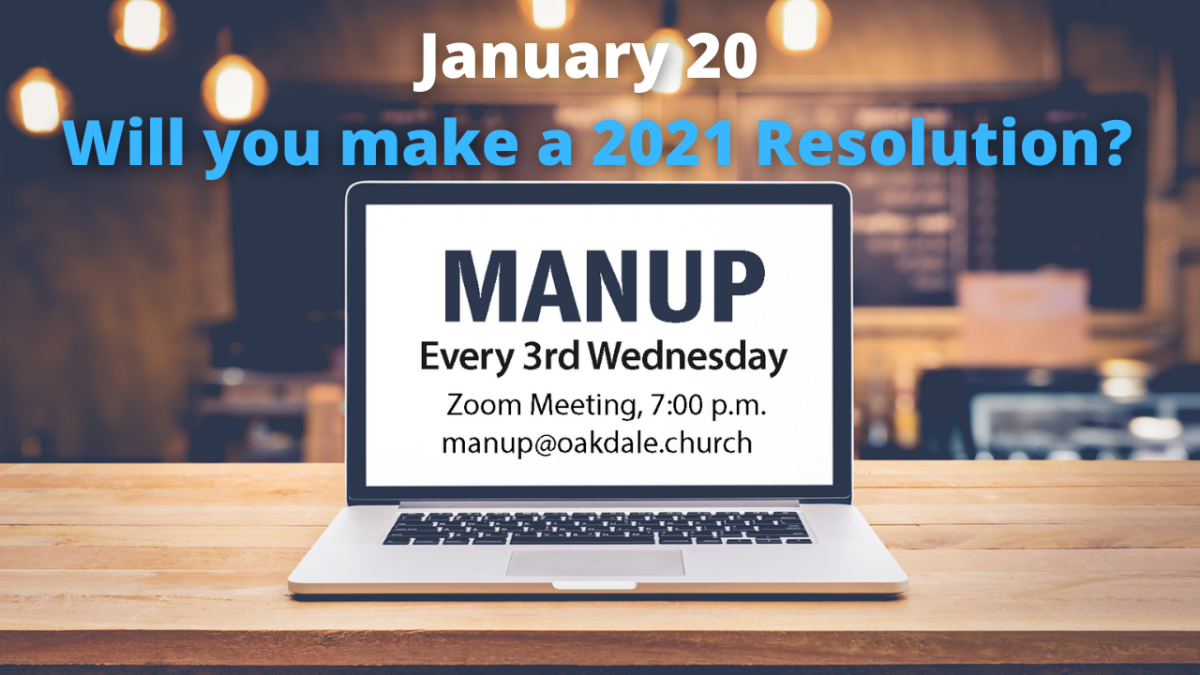 Man UP: Men's Online Gathering