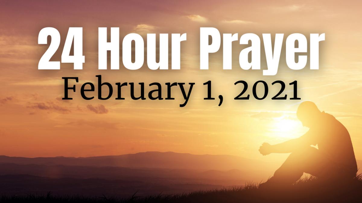 24-HR Prayer Vigil